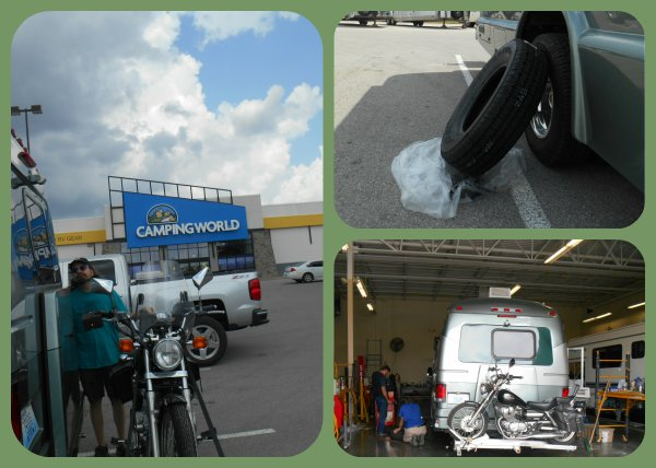 bad tire motorhome